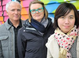 University of Otago Wellington researchers Michael Baker, Lucy Telfar-Barnard and Trang Khieu