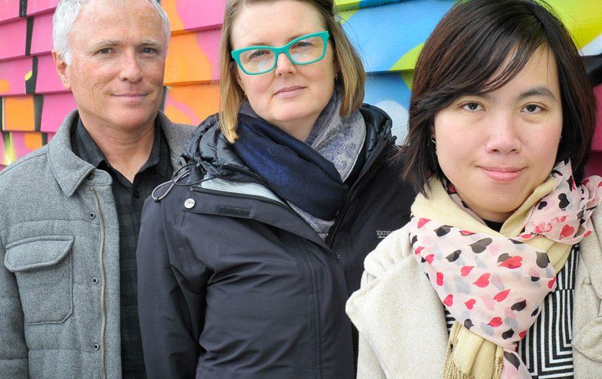 University of Otago Wellington researchers Michael Baker, Lucy Telfar-Barnard and Trang Khieu