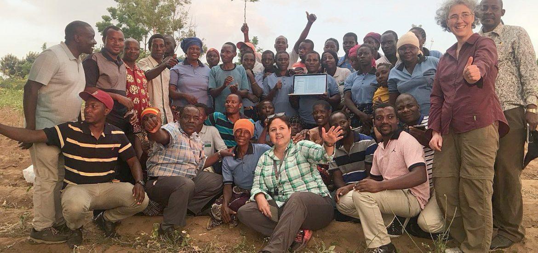 Jo Ann Stanton in Africa