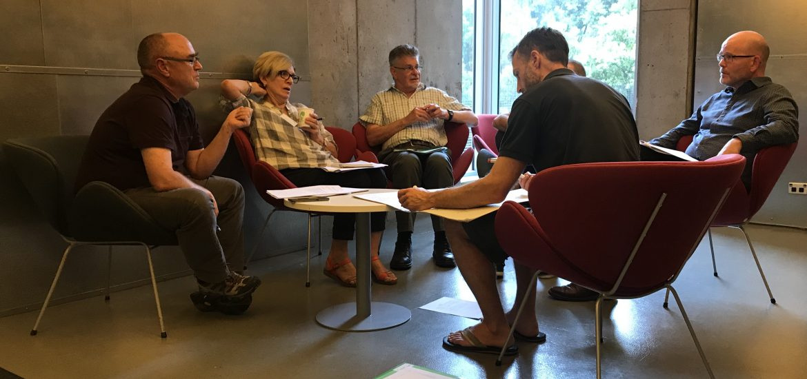 Small group work at OHA Workshop March 2019